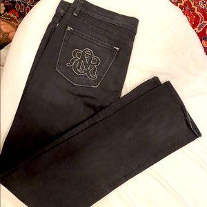 Rock & Republic black jeans pants size 32 new